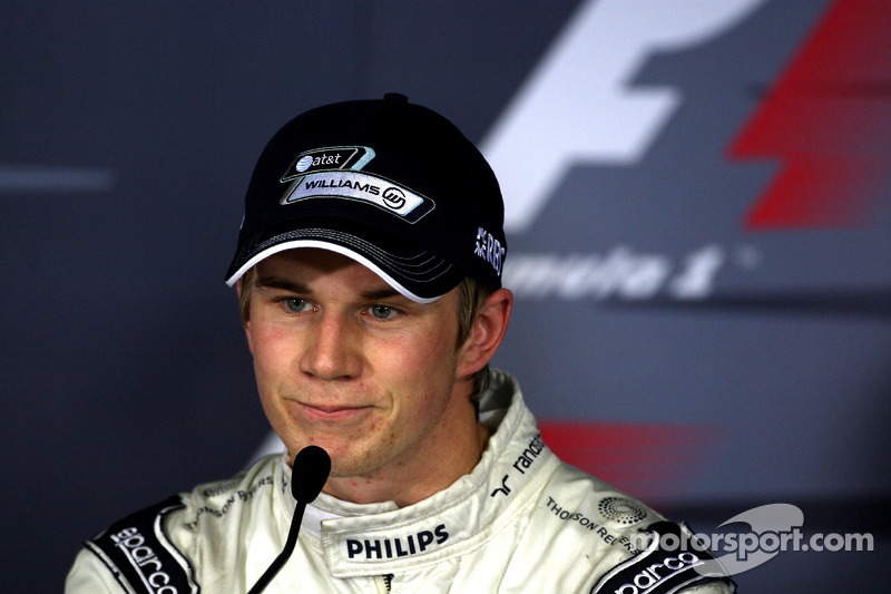 Прес-конференція: володар поулу Ніко Хюлькенберг, Williams F1 Team