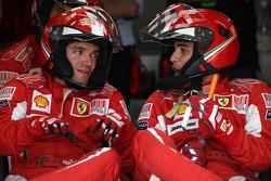 Ferrari mechanic watch the race