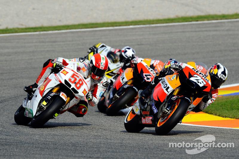 Dani Pedrosa, Repsol Honda Team, Marco Simoncelli, San Carlo Honda Gresini