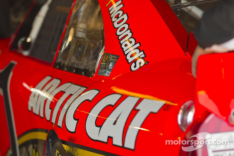 Auto van Jamie McMurray, Earnhardt Ganassi Racing Chevrolet