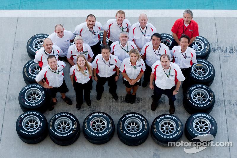 Bridgestone teamfoto