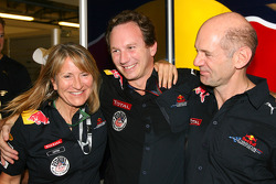 Christian Horner, Red Bull Racing, Sporting Director en Adrian Newey, Red Bull Racing, Technical Operations Director