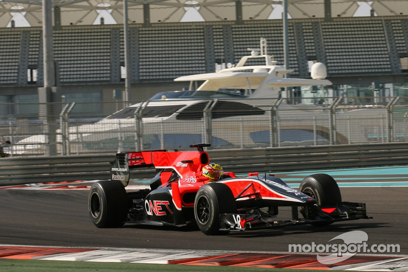 2010: Virgin VR-01 Cosworth, Formula 1