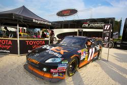 Toyota Racing display on South Beach