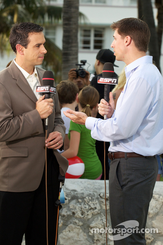 NASCAR Championship evenement in South Beach: Denny Hamlin, Joe Gibbs Racing Toyota