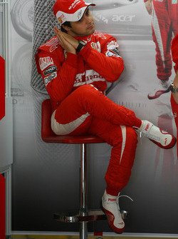 Felipe Massa, Scuderia Ferrari maybe a little tired