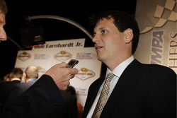 Steve Letarte, the new crew chief of the No. 88 NASCAR Sprint Cup Series car for Hendrick Motorsports