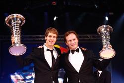 Чемпион Формулы 1 - Себастьян Феттель и Кристиан Хорнер, Red Bull