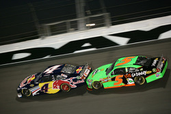 Kasey Kahne, Red Bull Racing Team Toyota, Mark Martin, Hendrick Motorsports Chevrolet