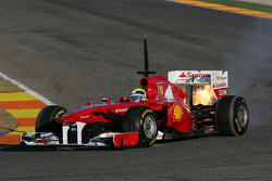 Felipe Massa, Scuderia Ferrari blows up the engine