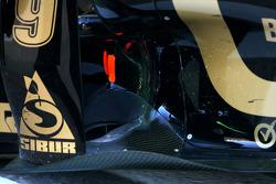 Lotus Renault GP technical detail, exhaust