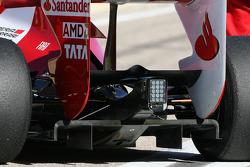 Scuderia Ferrari technical detail, difuser