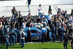#67 TRG Porsche GT3: Steven Bertheau, Brendan Gaughan, Wolf Henzler, Andy Lally, Spencer Pumpelly