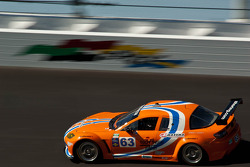 #63 Team Spencer Motorsports Mazda RX-8: Jim Downing, Richard Grupp, David Murry, Dennis Spencer, Owen Trinkler