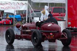 Alfa Romeo P2 in the rain