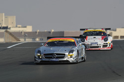 #7 Black Falcon Mercedes Benz SLS AMG GT3: Thomas Jäger, Kenneth Heyer, Jan Seyffarth, Sean Paul Breslin