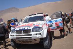 #307 BMW: Krzysztof Holowczyc et Jean-Marc Fortin