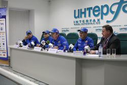 Conférence de presse Kamaz-Master