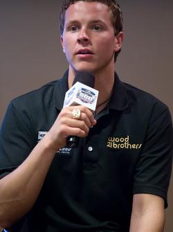 Champion's breakfast: 2011 Daytona 500 winner Trevor Bayne, Wood Brothers Racing Ford