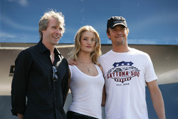 Transformer Director Michael Bay, Rosie Huntington-Whiteley, Josh Duhamel