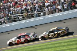 Brian Keselowski, Keselowski Dodge and Ryan Newman, Stewart-Haas Racing Chevrolet