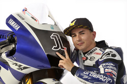 Jorge Lorenzo avec la Yamaha YZR-M1 2011