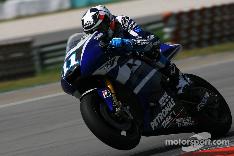 Ben Spies of Yamaha Factory Team