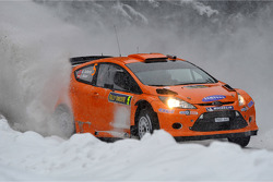 Хеннинг Сольберг и Илка Минор, Ford Fiesta RS WRC,  M-Sport Stobart Ford World Rally Team