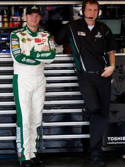 Dale Earnhardt Jr., Hendrick Motorsports Chevrolet and crew chief Steve Letarte