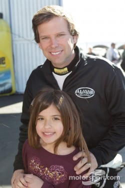 Del Worsham and his daughter
