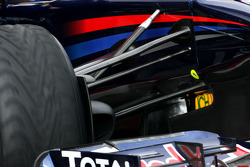 Red Bull Racing front suspension detail