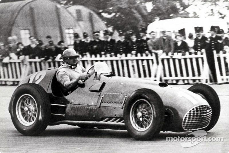1950-1951: José Froilán González, Ferrari 375