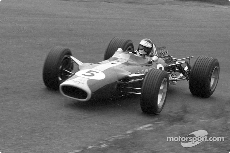Grand Prix des Pays-Bas 1967 : Jim Clark, Lotus 49
