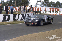 Ford's first win in the 24 Hours of Le Mans, 1966: the winning Ford GT-40 Mark II driven by Bruce Mc