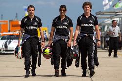Franck Mailleux, Soheil Ayari and Lucas Ordonez