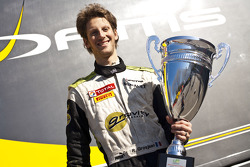 Romain Grosjean, champion de GP2 Asia Series