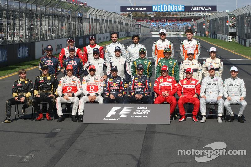 Пилоты Формулы 1 сезона-2011