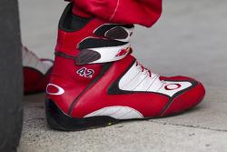 Shoes of Juan Pablo Montoya, Earnhardt Ganassi Racing Chevrolet