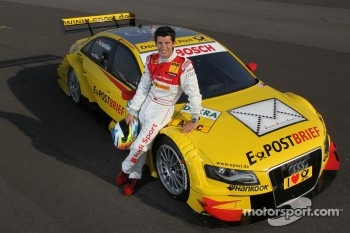 Postbrief Audi A4 DTM #9 (Audi Sport Team Abt Sportsline), Mike Rockenfeller