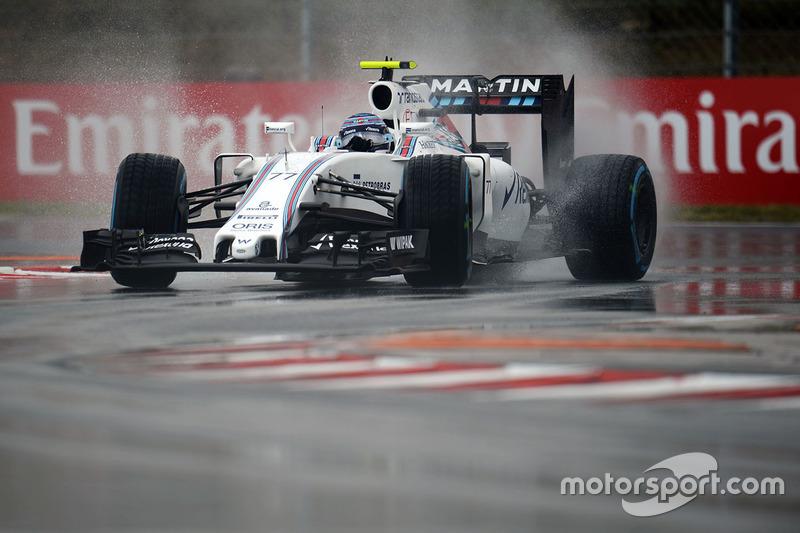 10: Valtteri Bottas, Williams FW38