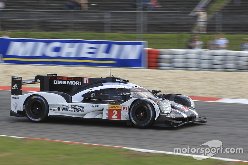 4. LMP1: #2 Porsche Team, Porsche 919: Romain Dumas, Neel Jani, Marc Lieb