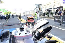 I vincitori della gara #1 Porsche Team Porsche 919 Hybrid: Timo Bernhard, Mark Webber, Brendon Hartley