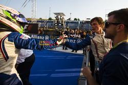 Ralph Boschung, Koiranen GP congratulates Matthew Parry, Koiranen GP