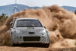 Testfahrten mit dem Toyota Yaris WRC 2017