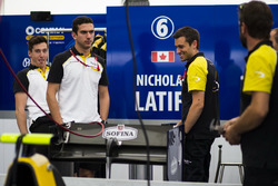 Alex Lynn, DAMS and Nicholas Latifi, DAMS