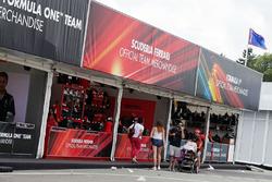 F1 Merchandise stands