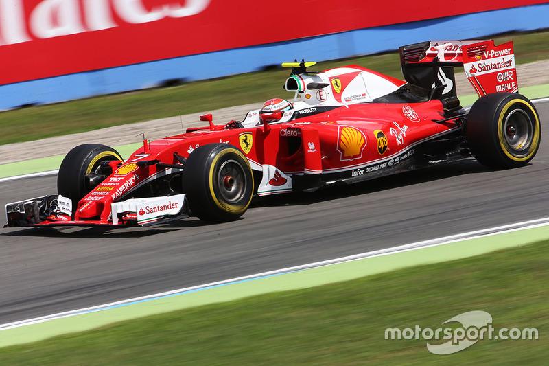 5: Кімі Райкконен, Ferrari SF16-H