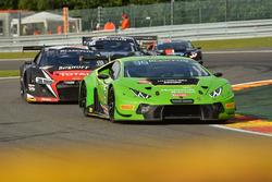 #63 GRT Grasser Racing Team, Lamborghini Huracan GT3: Nicolas Pohler, Diego Alessi, Anders Fjordbach, Dennis Andersen