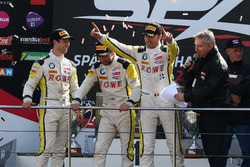 Podium: Sieger #99 Rowe Racing, BMW M6 GT3: Maxime Martin, Philipp Eng, Alexander Sims