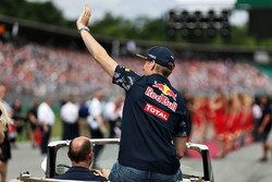 Fahrerparade: Max Verstappen, Red Bull Racing